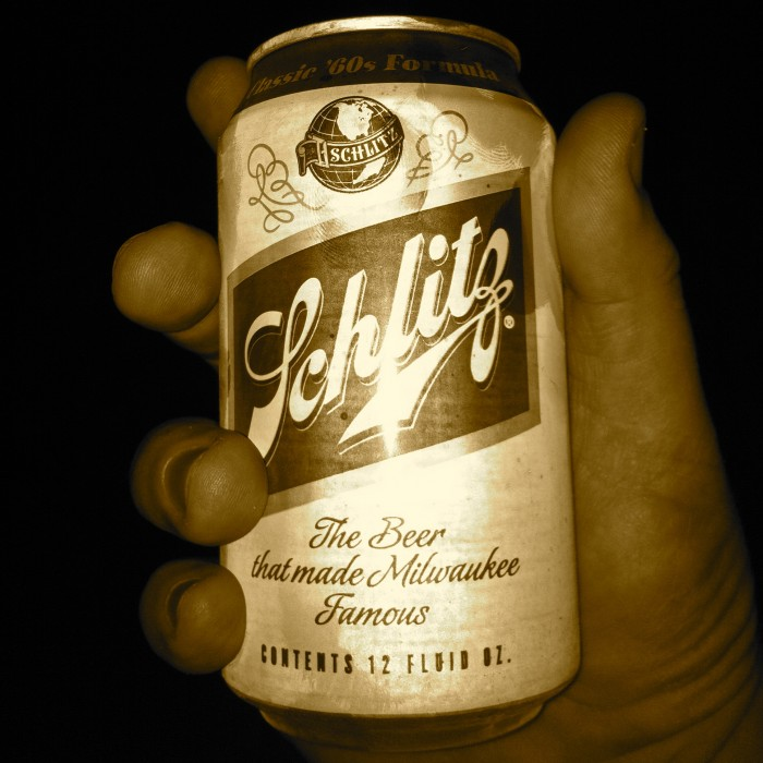 I got the Schlitz!