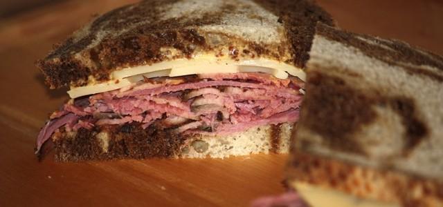 Da Pastrami Sandwich